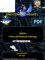 Educational Technology - A Summary