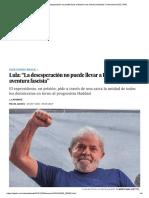 """""""La Desesperación No Puede Llevar...Ra Fascista"""" _ Internacional _ EL PAÍS"""