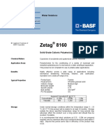 Basf 8160 Specifications
