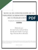 Manual de Construcción de Un Videonistagmoscopio Infrarrojo de Ultrabajo Costo v4.0 - PDF