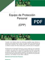 EQUIPO DE PROTECCION PERSONALIZADA