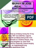 TALAMBUHAY NI JOSE RIZAL(godinez-filipino3).ppt