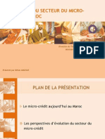 Policy Forum_ L'évolution du secteur du micro-crédit au Maroc_MEF_presentation