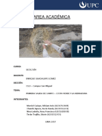 Geología de Chorrillos