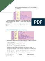 Pronombres y Preposiciones