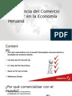Importancia Del Comercio Exterior en La Economia Peruana