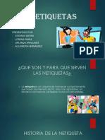 Las Netiquetas Exposicion.