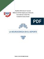 La Neurociencia en El Deporte