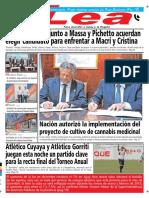 Periódico Lea Viernes 23 de Noviembre Del 2018