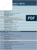 CGA 2018 - Programme