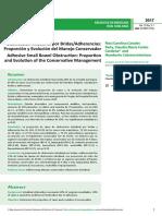 Obstruccioacuten Intestinal Por Bridasadherencias Proporcioacuten y Evolucioacuten Del Manejo Conservador (1)