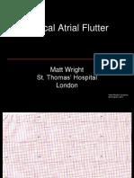 11-Atrial Flutter, M Wright