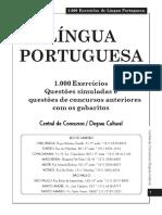 1000 Exercícios de Português.