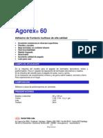 Agorex 60 Adhesivo de Contacto