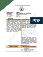 RPP Dasar Pengendalian Mutu Hasil Pertanian  Kelas 10 Smk