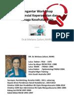 Dr. Dr. Meliana Zailani MARS - Pengantar Kredensial Perawat