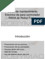 Curso de Mantenimiento Electrico R30iA