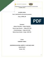 Tarea 1- TRABAJO COLABORATIVO L- Grupo 100408_236 -Vectores, Matrices y Determiante