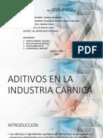ADITIVOS EN LA INDUSTRIA CARNICA.pptx