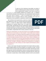 ensayo de la corrupcion en  el sector salud