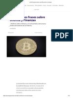 Las 45 Mejores Frases Sobre Economía y Finanzas