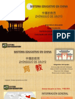 Sistema Educativo en China
