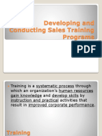 S & DM Training & Development