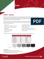 Fact Sheet - Opacity