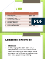 Komplikasi Chest Tube