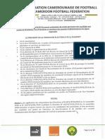 087_portant Publication de La Liste Provisoire Des Candidats Aux Postes de Presidents Vices Presidents Et Membres Des Conseils Des Ligue