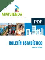 01. Boletã_n Estadã_stico Del Fmv - Enero 2018