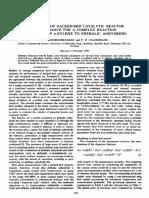 Fluid Bed Reactor O-Xilene