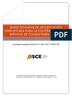 bases estándar de adjudicación simple