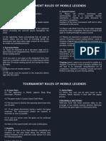 Rules and Mechanics