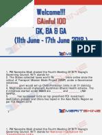 GAinful 100 11th June - 17th June 2018 - PDF