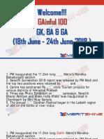 GAinful 100 18th June - 24th June 2018 - PDF