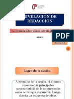 SEMANA 4A-XCC2 La Enumeracion Como Estrategia Discursiva 25808
