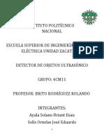 Proyecto Radar Ultrasónico