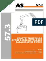 ATLAS 57.3 (6139577) Parts Manual