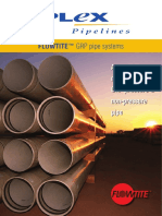 Ipx4 Flowtite-grp Pipes