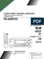 JVC RX-889PGD