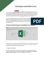 18 Trucos de Excel Para Convertirte en Un Experto