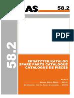 ATLAS 58.2 (6104788) Parts Manual