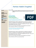 Farhan Habib (Team Lead-Supervisor) CV