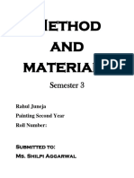 Method and Material