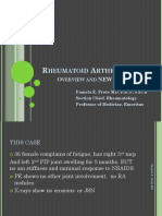 Rheumatoid Arthritis - Overview and New Information