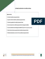 Modelos lineales de optimización con variables continuas