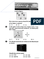 NSTSE Class 4 Solved Paper 2014