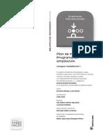 CASTELLANO. Plan de Mejora. Ed. Santillana