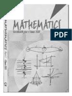 NCERT Class 12 Mathematics Part 1